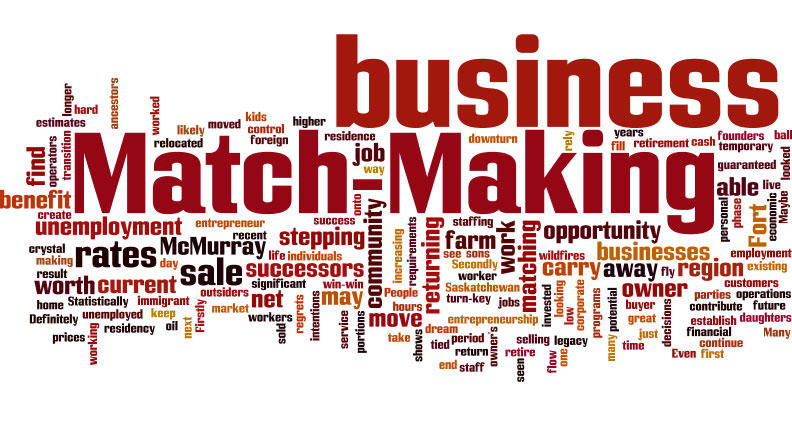 Match Making – Unemployment and Entrepreneurship